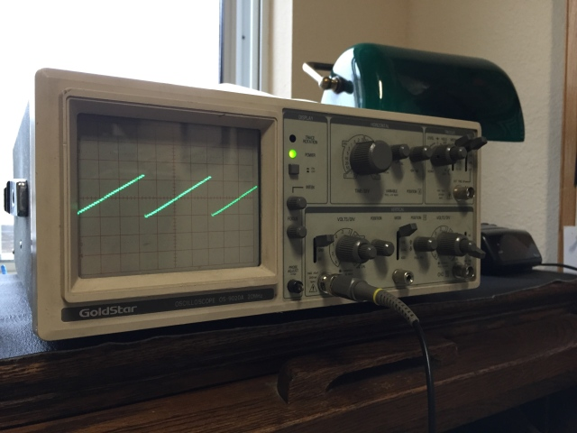 R2R DAC for Oscilloscope Graphics – Ted Myers